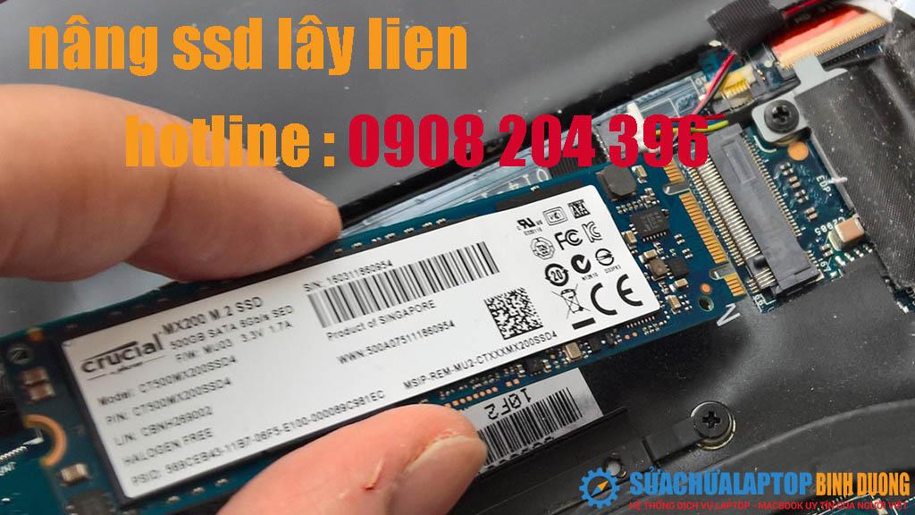 nâng cấp ổ cứng ssd lấy liền bình dương giá rẻ