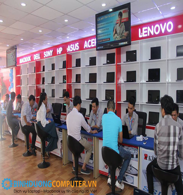 Services for foreigners at Binh Duong Computer