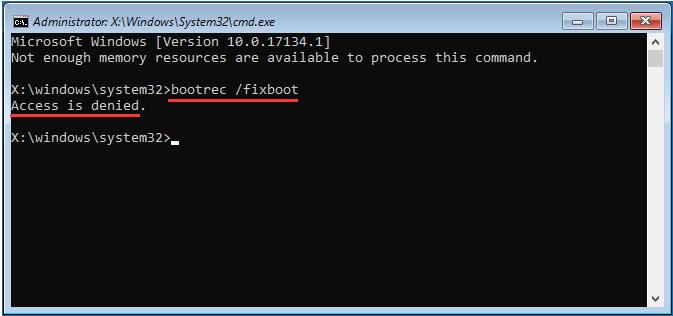 Fix boot sửa lỗi MBR khi cài win bị lỗi 0xc000000f hay lỗi MBR