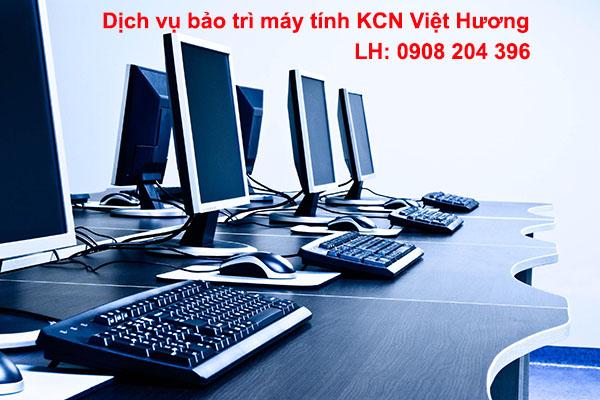 Bảo trì máy tính văn phòng KCN Việt Hương