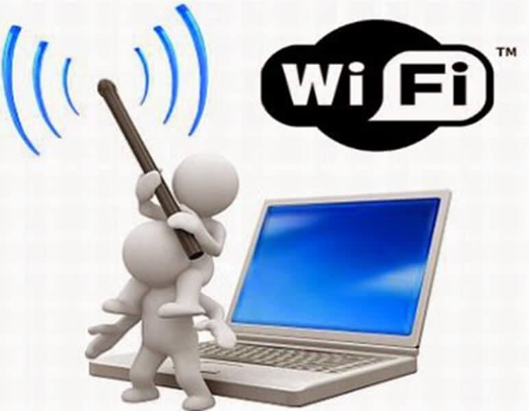 kiểm tra sóng wifi