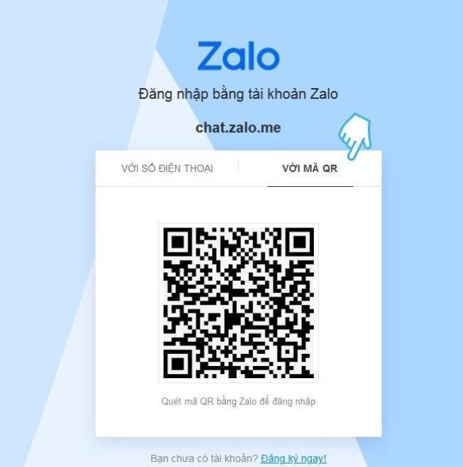Chat Zalo trên web