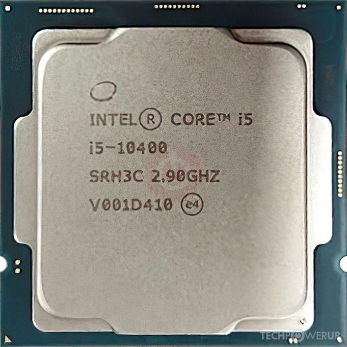 CPU i5-10400