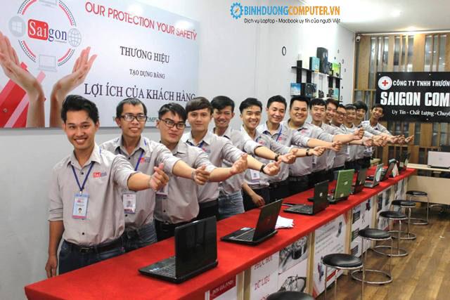 Sửa máy tính uy tín tại Thuận An