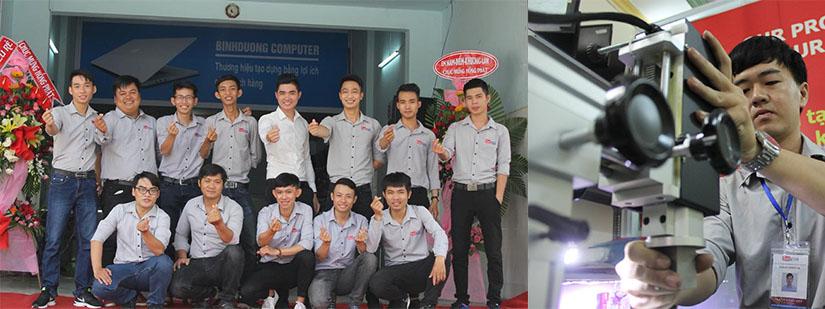 sửa máy tính giá rẻ tại Thủ Dầu Một