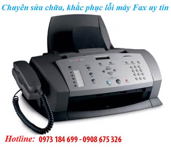 Khắc phục lỗi máy fax bị mờ chữ