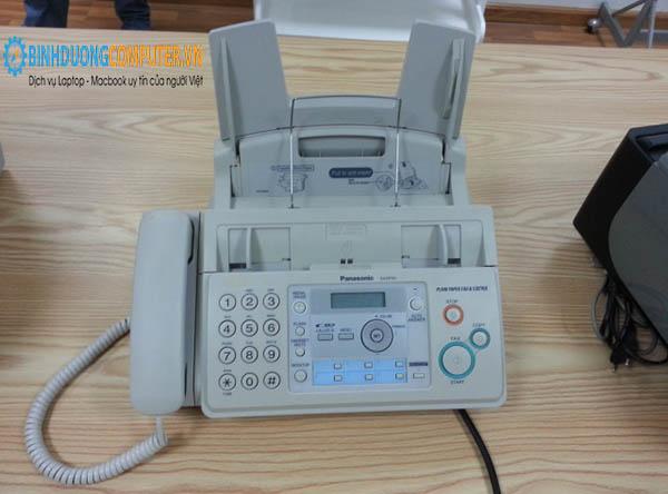 Sửa lỗi máy fax bị mờ chữ