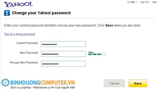 Khi tài khoản Yahoo! Bị hack nên làm gì