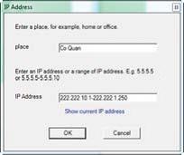 Sử dụng LAlarm Chống trộm laptop USB