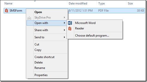 Chỉnh sửa, chia nhỏ và mã hóa file PDF trong Word 2013