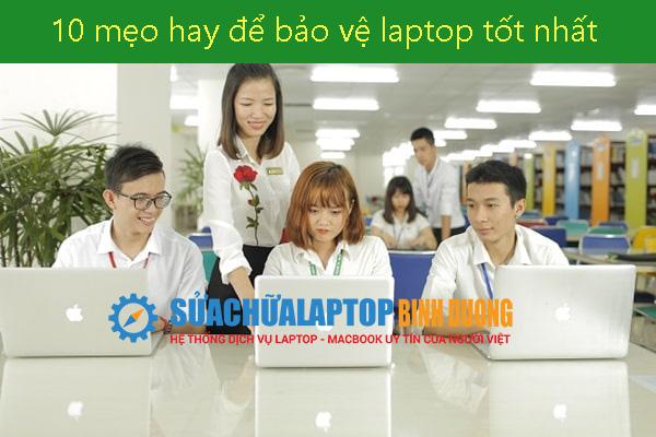 10 mẹo hay để bảo vệ laptop tốt nhất