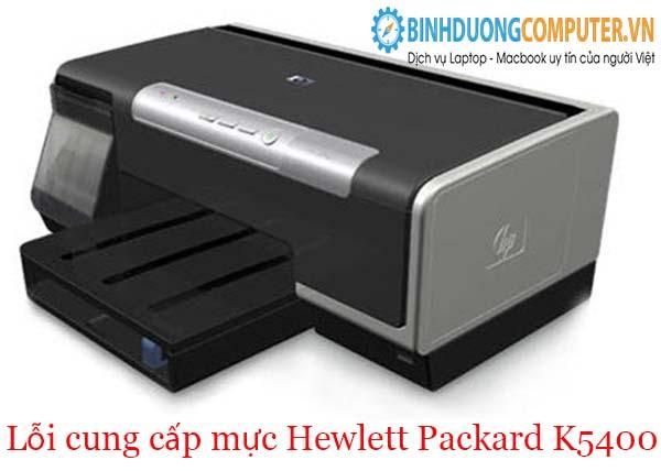 Lỗi cung cấp mực Hewlett Packard K5400