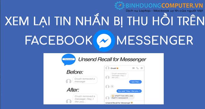 Cách để xem lại tin nhắn đã bị thu hồi trên Facebook Messenger