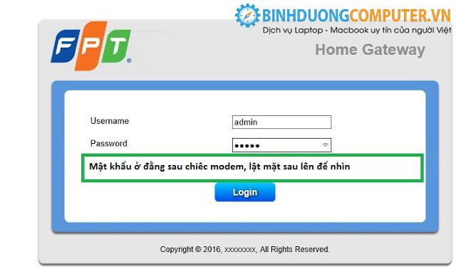 Cách đổi mật khẩu wifi và tên nhà mạng FPT