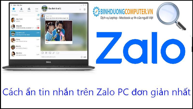 Cách ẩn tin nhắn trên Zalo PC đơn giản nhất