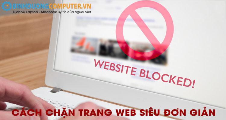 Cách chặn trang web siêu nhanh và hiệu quả