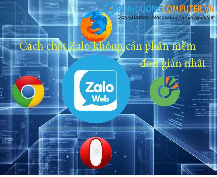 Cách chát Zalo không cần phần mềm đơn giản nhất