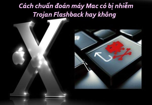 Phương pháp chuẩn đoán máy Mac có bị nhiễm Trojan Flashback hay không