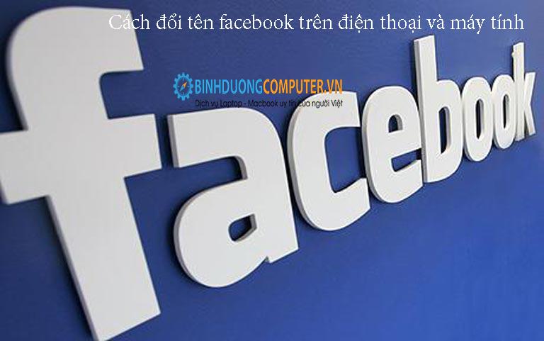 Cách đổi tên facebook trên điện thoại và máy tính