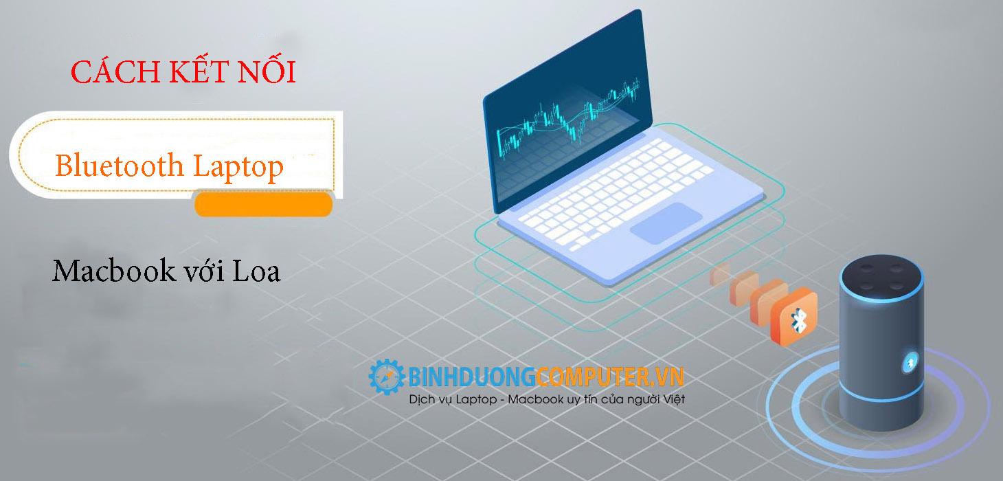 Cách kết nối bluetooth Laptop, Macbook với loa