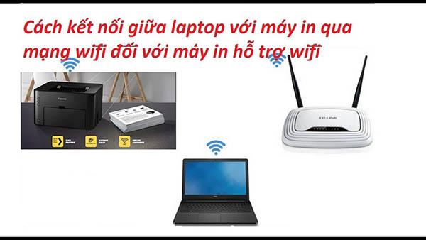 Cách kết nối máy in với wifi