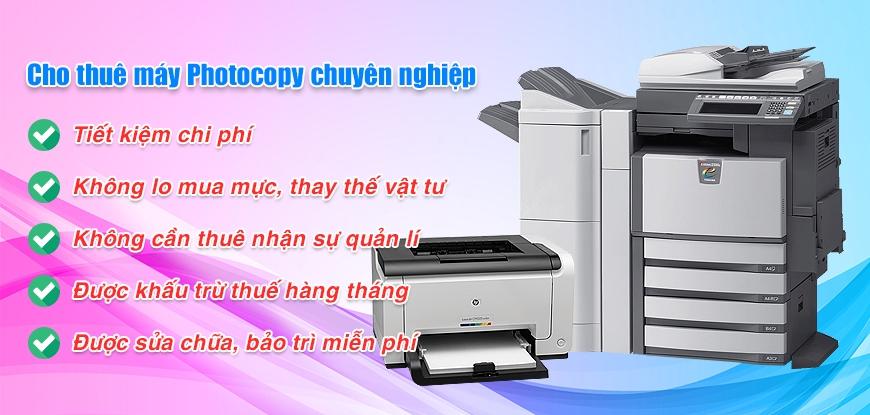 Cho thuê máy Photocopy tại KCN Vsip