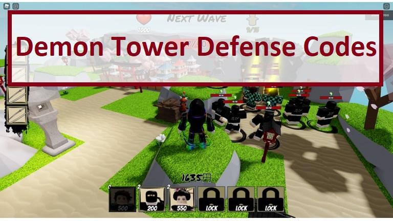 Code Demon Tower Defense Beta 2021 mới nhất