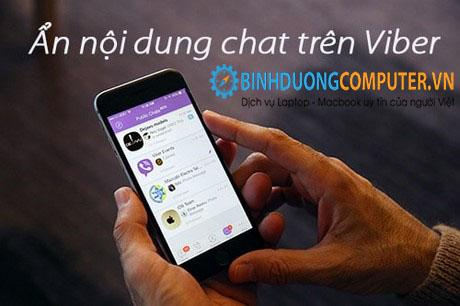 Hướng dẫn cách ẩn, giấu nội dung chat trên viber