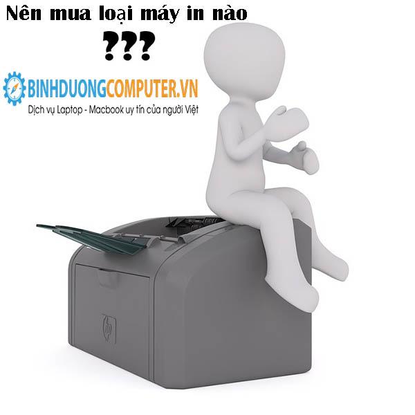 Hướng dẫn chọn mua máy in phù hợp với gia đình, văn phòng