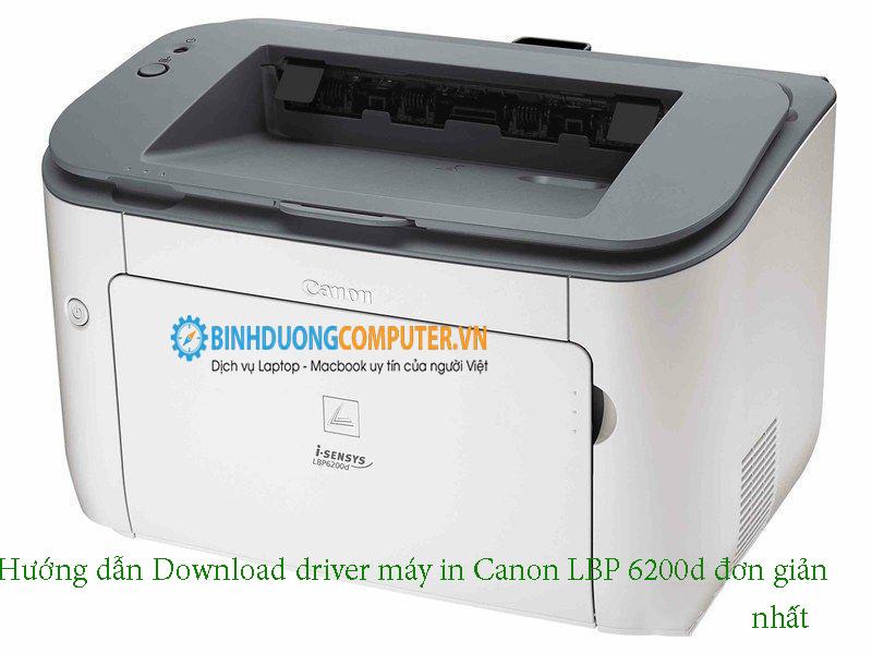 Hướng dẫn Download driver máy in Canon LBP 6200d đơn giản nhất