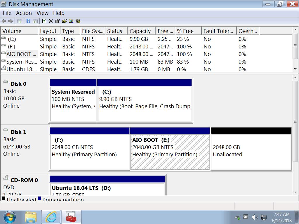 Hướng dẫn phân vùng ổ cứng trong windows