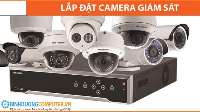 Lắp đặt camera an ninh tại Dầu Tiếng