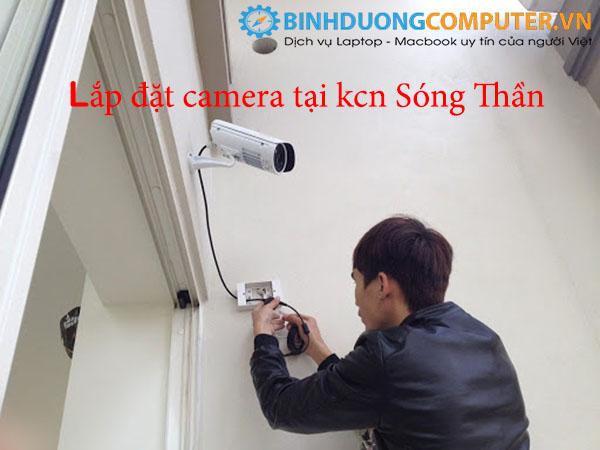 Lắp đặt camera tại kcn Sóng Thần