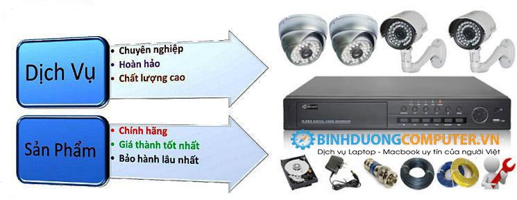 Lắp đặt camera quan sát tại Thuận An