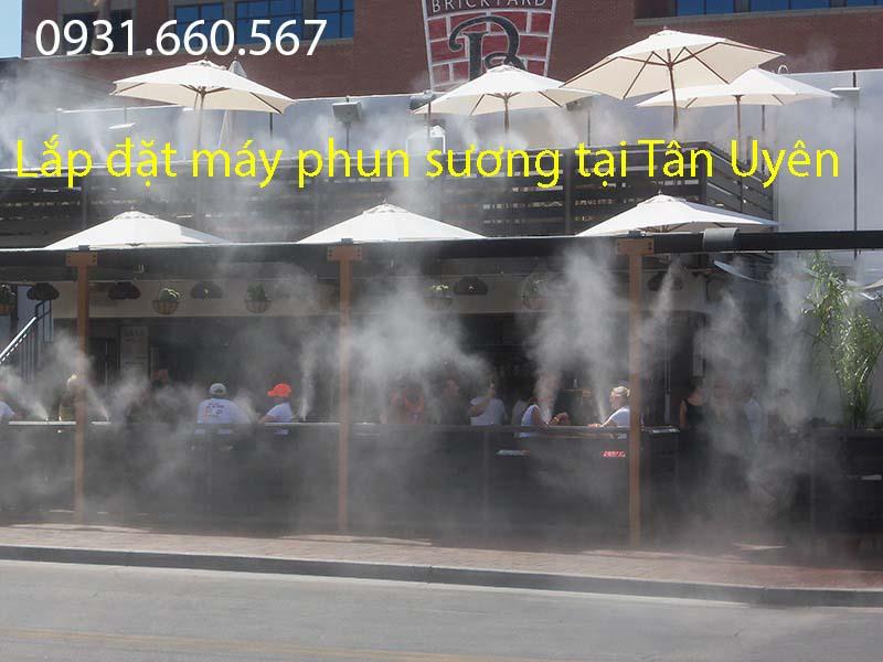 Lắp đặt máy phun sương tại Tân Uyên