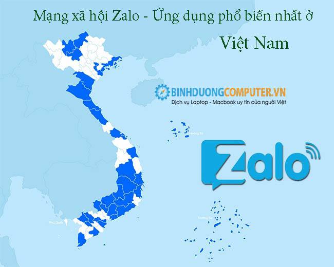 Mạng xã hội Zalo - Ứng dụng phổ biến nhất ở Việt Nam