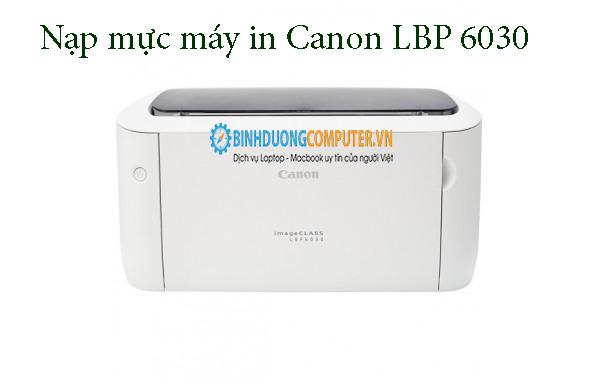 Nạp mực máy in Canon LBP 6030