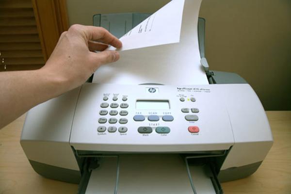 Những lỗi máy fax thường gặp