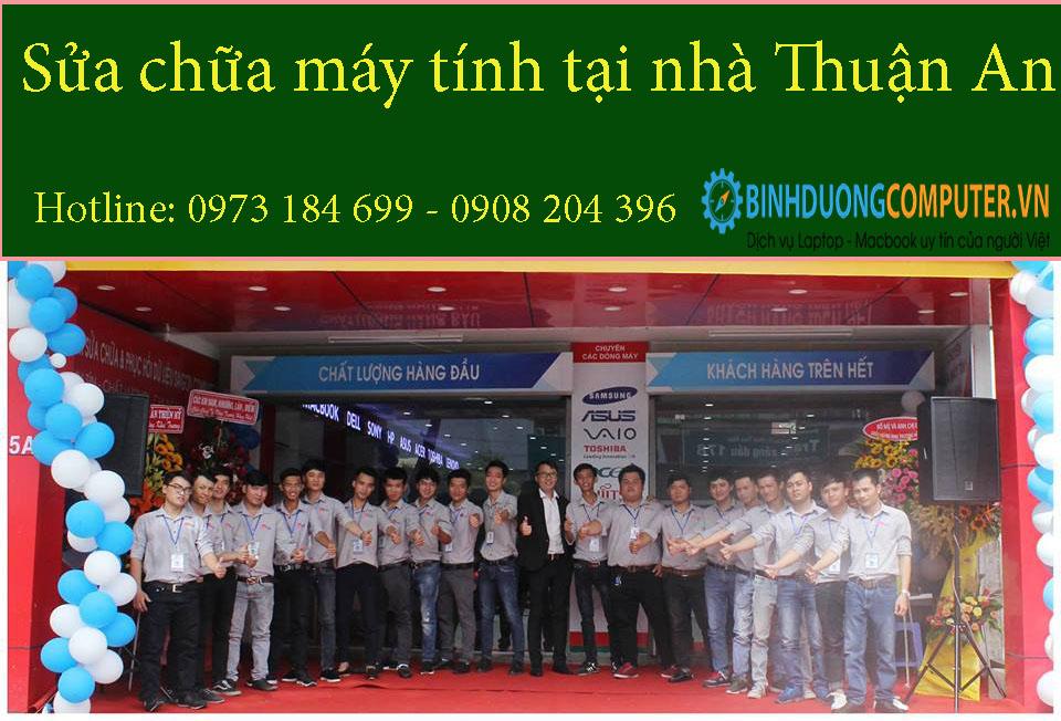 Sửa chữa máy tính tại nhà Thuận An