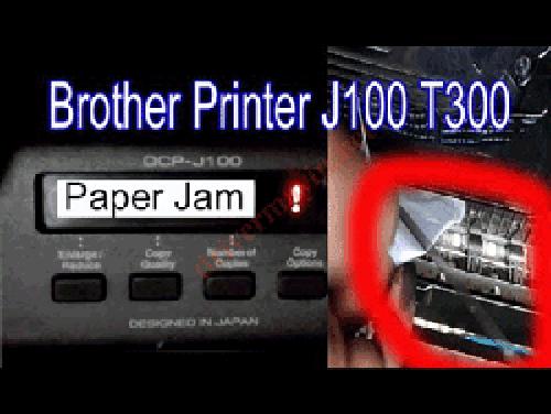 Sửa máy in brother báo lỗi paper jam