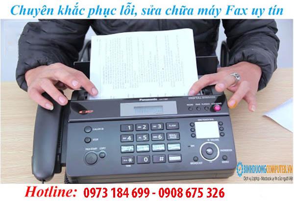 Sửa máy Fax bị mờ chữ