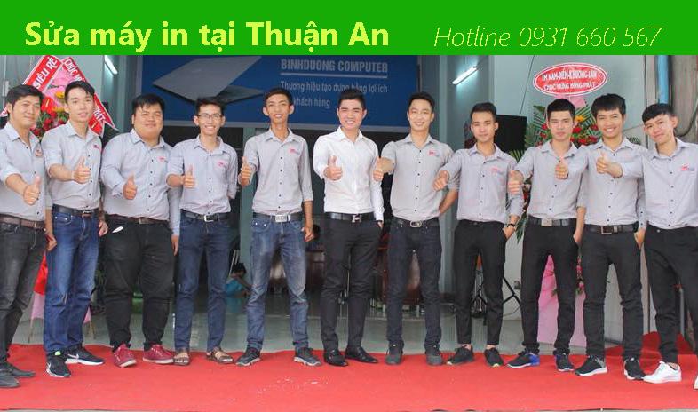 Sửa máy in tại Thuận An