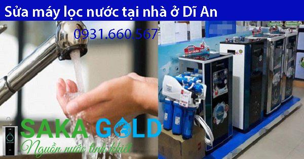 Sửa máy lọc nước tại nhà Dĩ An