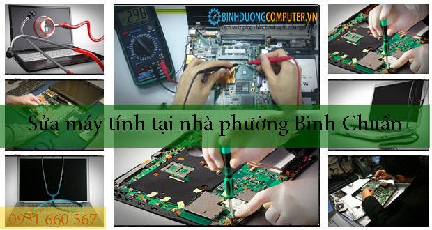 Sửa máy tính tại nhà phường Bình Chuẩn