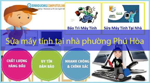 Sửa máy tính tại nhà phường Phú Hòa