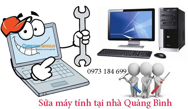Sửa máy tính tại nhà Quảng Bình