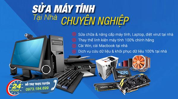 Sửa máy tính tại nhà Sơn La