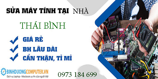 Sửa máy tính tại nhà Thái Bình