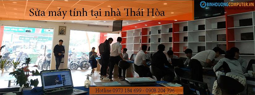 Sửa máy tính tại nhà Thái Hòa
