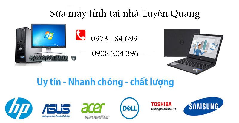 Sửa máy tính tại nhà Tuyên Quang